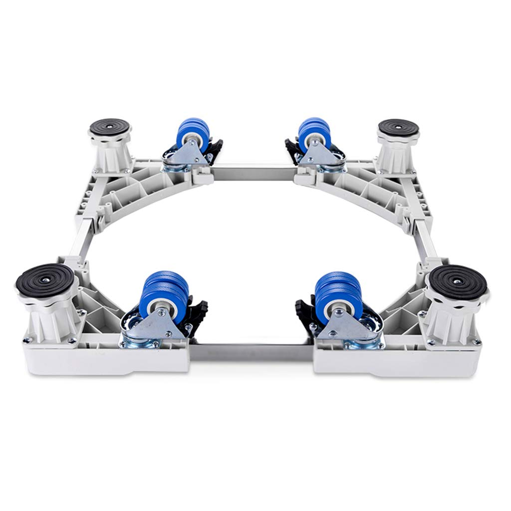Appliance Base Bracket, Furniture Dolly, 4 Wheels 4 Feet, Movable and Adjustable, Multi-Function