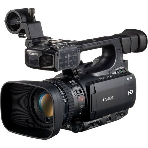 Canon XF-105 ''High Definition Professional Camcorder, XF Codec, CF Card Media, 10X HD Zoomlens, 1920 x 1080 CMOS Sensor by Canon