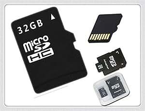 ARBUYSHOP comercial, de ocio, de entretenimiento para tarjetas microSD con adaptador + caja Class6-10 de 16 GB 32 GB 64 GB 128 MB de tarjeta de memoria para la venta de BT2