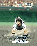 Autographed Pete Rose 8x10 Cincinnati Reds Photo