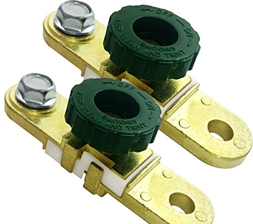 2 Pieces Car Battery Separator Breaker Isolator Switch Battery Switch Oldtimer: