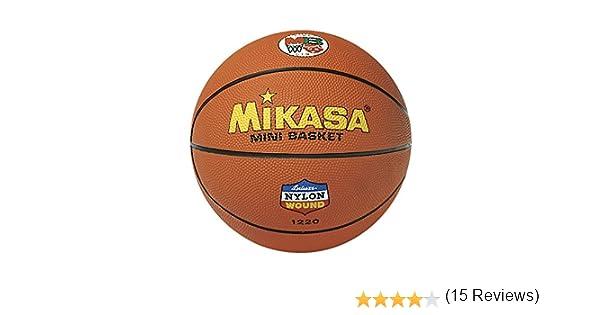 MIKASA Balón Baloncesto Goma Naranja-5: Amazon.es: Deportes y aire ...