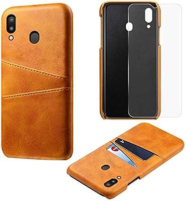 wholesale dealer ff932 37ae7 Amazon.com: zukabmwus Samsung Galaxy M20 PC Case Cover, Women Anti ...