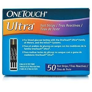 One Touch Ultra - Tiras reactivas 50 unidades