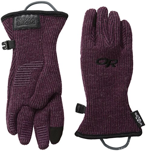 (Outdoor Research Kids' Flurry Sensor Gloves, Pinot, Large)