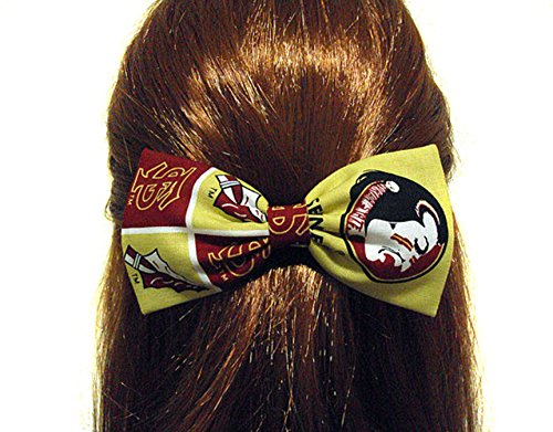 ow Collection-UF Gators-FSU Seminoles (Headband, FSU Seminoles/Gold) (Gold Seminole Head)