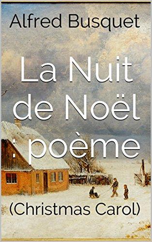 Amazoncom La Nuit De Noël Poème Christmas Carol