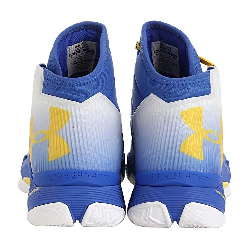 Under Armour Männer UA Curry 2.5 Weiß / Team Royal / Taxi