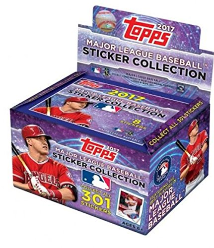 2017 Topps MLB Baseball Sticker Collection box (50 (Collection Baseball)