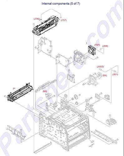 HP RM1-6741-000CN Fusing Assembly 220V