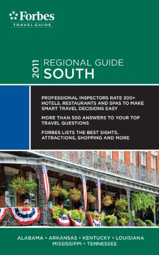 Forbes Travel Guide 2011 South (Forbes Travel Guide Regional Guide) - Forbes Travel Guide