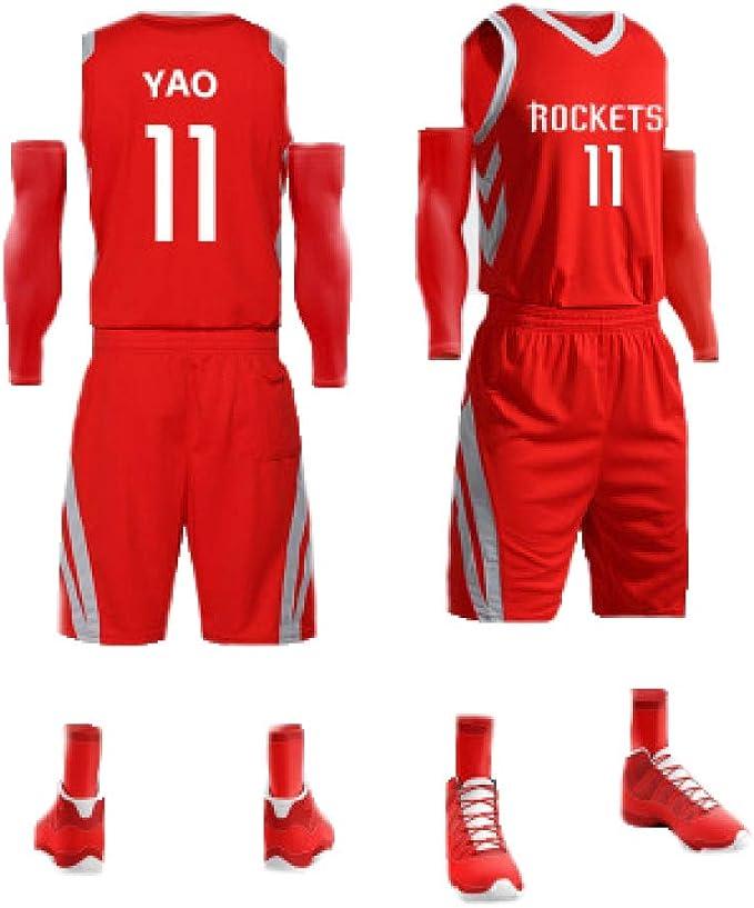 Color : Red, Size : S YSPORT Atlanta Hawks Shorts Baloncesto Swingman Malla Bordada Aficionados Shorts Entrenamiento Respirable Usable Secado R/ápido