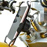BuyBits Dedicated 20.5mm-24.5mm (0.81 - 0.96 inch) Fork Stem Sports Bike Motorcycle Mount for iPhone 7 (4.7'')