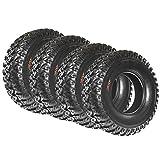 Set of 4 SunF A045 30x10R14 Radial ATV/UTV All-Terrain Off-Road Performance Tires , 8-PR