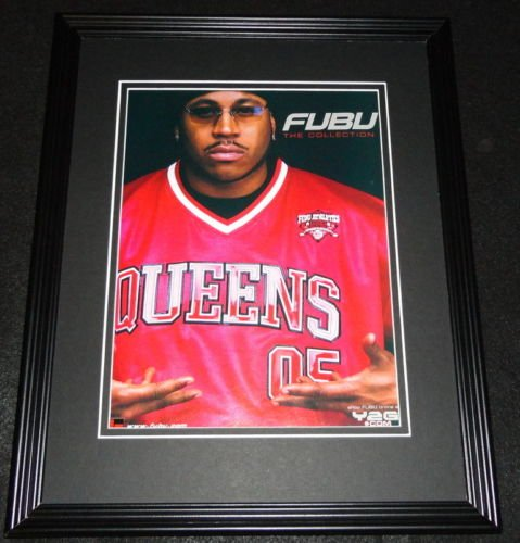 LL Cool J 2000 Fubu The Collection Framed 11x14 ORIGINAL Advertisement