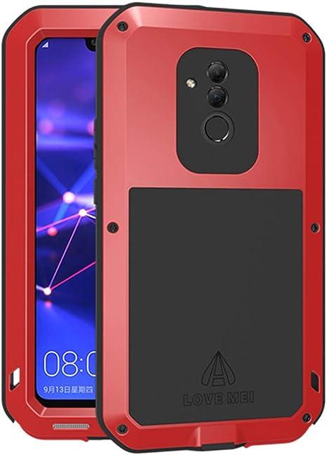 BINXUN Huawei Mate20 Lite Custodia Impermeabile, Antiurto, Antipolvere, Anti Neve, Anti Urti Protettiva Metallo Lega di Alluminio Case Cover per ...