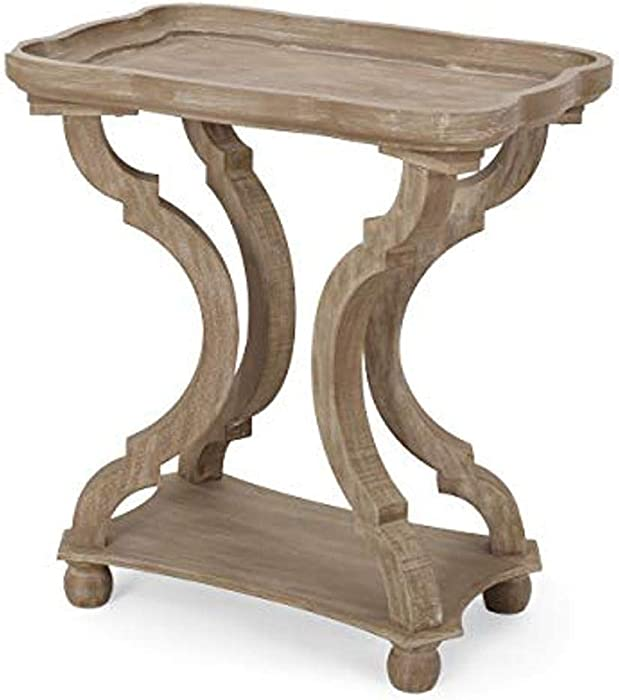Christopher Knight Home Fannie French Country Accent Table with Rectangular Top, Natural