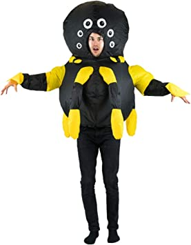 Bodysocks® Disfraz Hinchable de Araña Adulto: Amazon.es: Juguetes ...