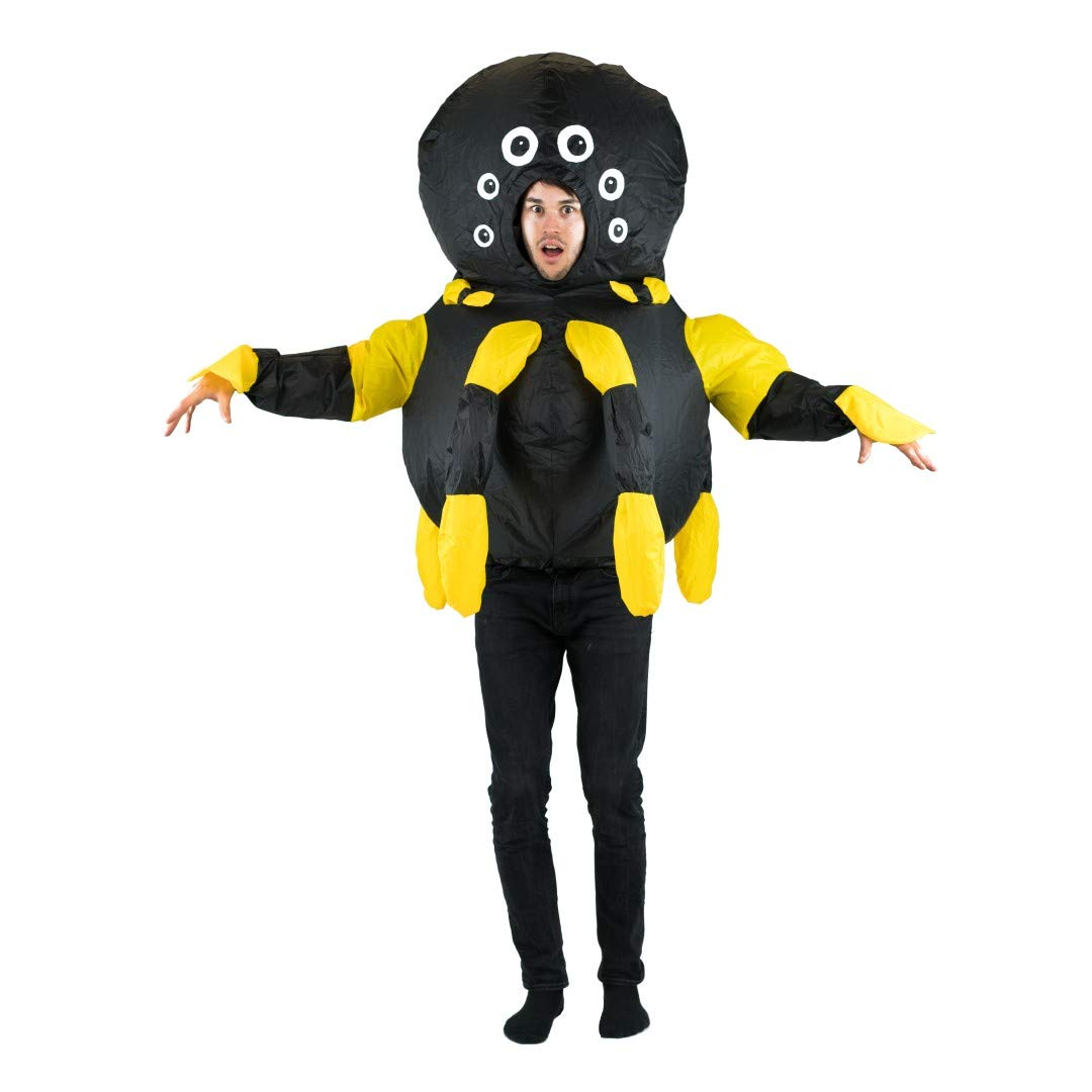 Spider Bodysocks Adult Inflatable Lift You Up Costume