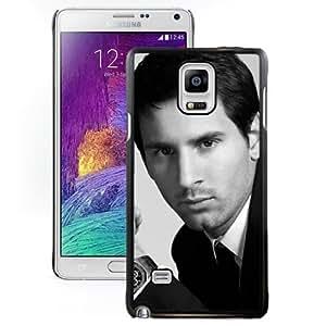 Unique DIY Designed Case For Samsung Galaxy Note 4 N910A N910T N910P N910V N910R4 With Soccer Player Lionel Messi 17 Cell Phone Case