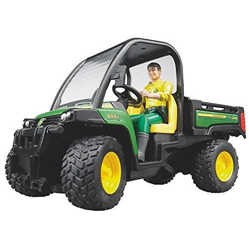 Bruder Toys John Deere Gator XUV 855D with Driver - 02490
