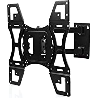 Lumsing Full Motion Articulating Arm Tilt Swivel 22-50 Inch TV Wall Mount Bracket for LED LCD Plasma Flat Screen Monitor VESA 400X400mm