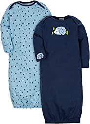 Gerber Baby-Boys 2-Pack Gown