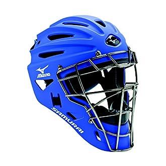 Mizuno G4 Samurai Catcher's Helmet, Royal