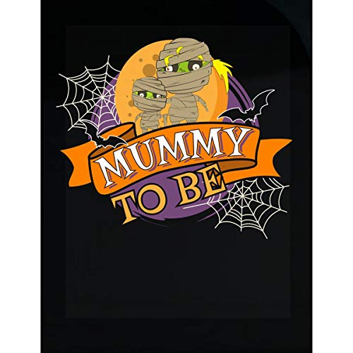 Funny Halloween Mummy to Be Costume Idea - Transparent -