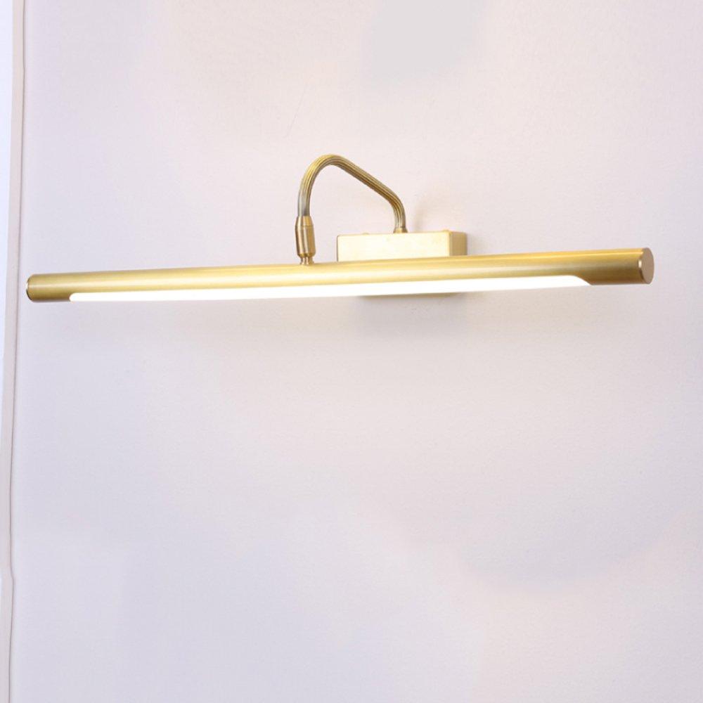Hyun times ミラーフロントライト銅アメリカのバスルーム防水壁ランプレトロバスルームミラーフロントシンプルモダン ( 色 : ブラス ぶらす ) B07BQ2MJV2 16915 ブラス ぶらす ブラス ぶらす