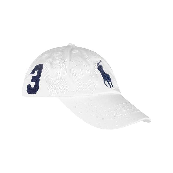 56c68dc36ade93 Amazon.com: Polo Ralph Lauren Boys Big Pony Cap Hat: Clothing