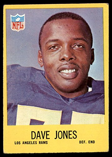 Football NFL 1967 Philadelphia #90 Deacon Jones Excellent LA Rams (Deacon Jones Nfl)