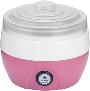 Household Yogurt Maker Machine, Yogurt Maker, for Kitchen Home(Pink)