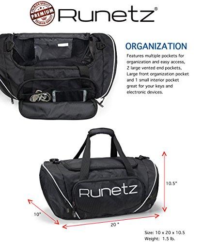 de50d48ca0a0 Runetz Gym Duffle Bag - Sports Bag for Men and Women - Ideal Workout ...