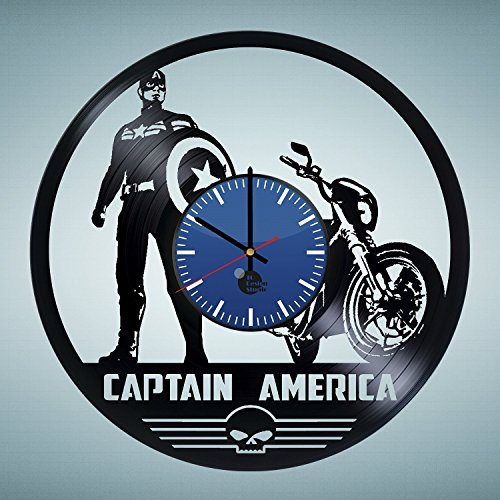 Captain America Marvel Wall Clock
