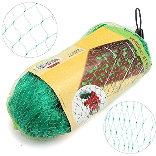 Anti Bird Netting Pond Net Protection Mesh Protect Gardening Pest Control Great For Protecting Your Garden Allotments, Fruit And Veg Patches, Ponds,and More.