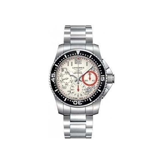 LONGINES RELOJ DE HOMBRE AUTOMÁTICO 41MM CORREA Y CAJA DE ACERO L36964136: Amazon.es: Relojes