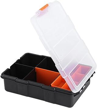 Pro Plastic Compartment Parts Storage Case Screws Nails Nuts Organiser Tools Box