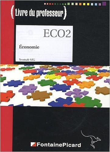 Livre gratuits en ligne Economie Terminale STG : Livre du professeur (1Cédérom) pdf