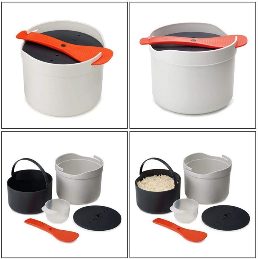 YRFDM Micro-Ondes cuiseurs /à Riz Micro-Ondes Cuisson du Riz cuiseur Plastique