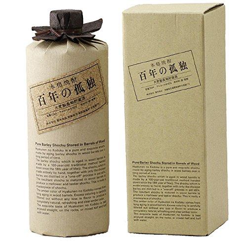 百年の孤独 (ひゃくねんのこどく) 麦焼酎 40度 720mlの商品画像