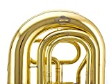 Glory GTU4 Brass Advanced Bb Tuba -4key, Gold