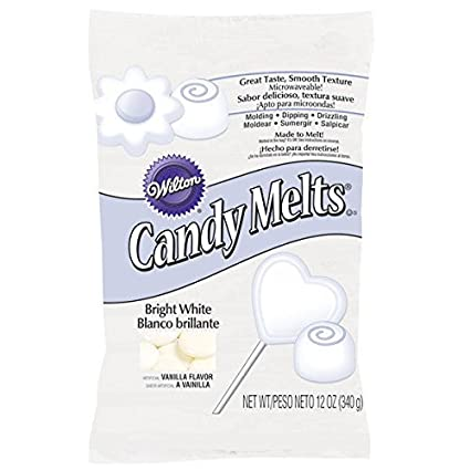 Amazon.com: Bright White Wilton Candy melts 12 oz Molds ...