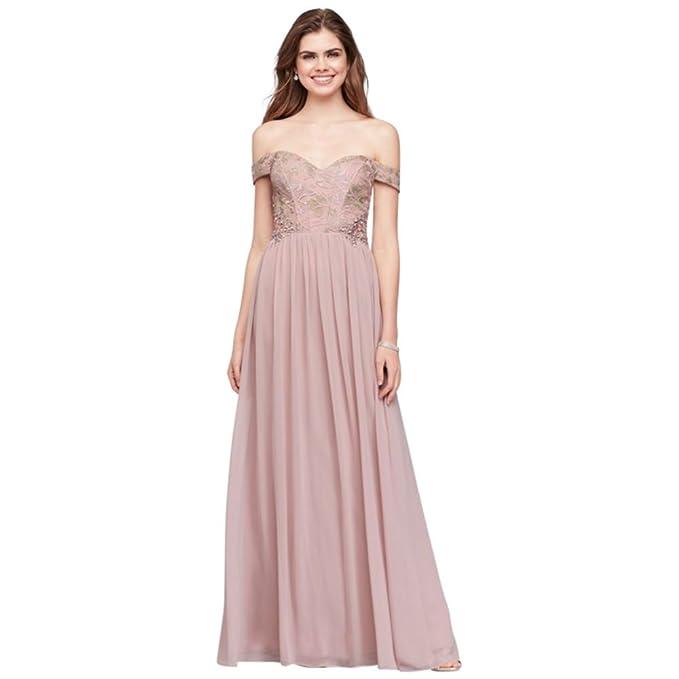 Corset Chiffon Dress From David's Bridal
