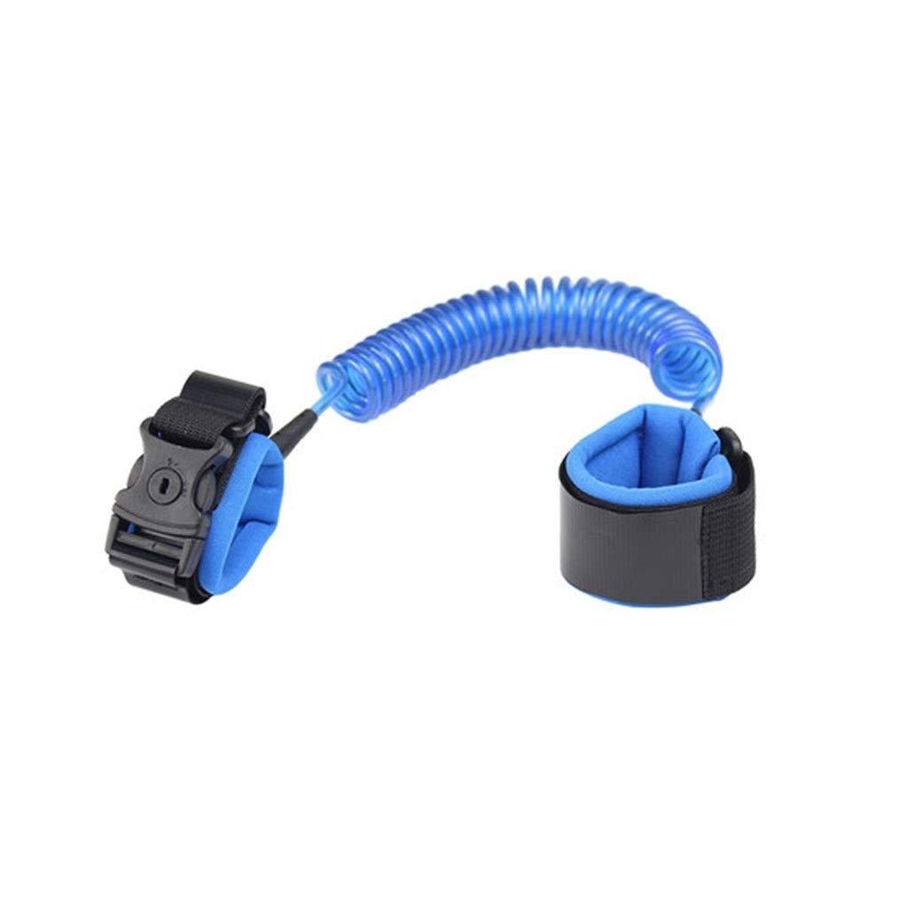 Children's Wrist Chain, Child's Anti-Lost Wrist Strap (Color : Blue)