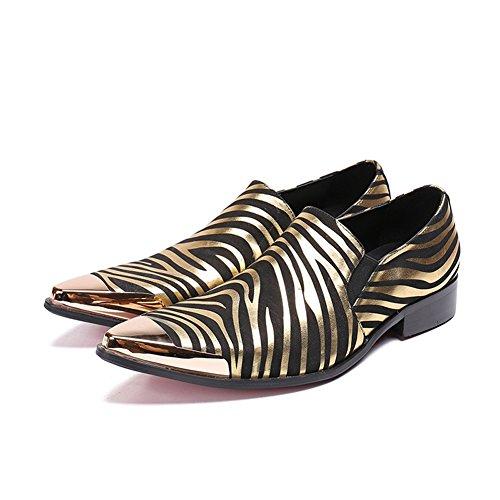 CAI Mocasines para Hombres 2018 Primavera/otoño/Invierno Moda para Hombres Zapatos Perezosos/En Punta/Zapatos de Negocios/Trend/Diario/Oficina/Viaje Zapatos ...