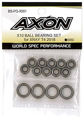 (AXON X10 Ball Bearing Set for XRAY T4 2018 BS-PG-X001)