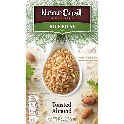 Near East Rice Pilaf Mix, Toasted Almond, 6.6oz Box
