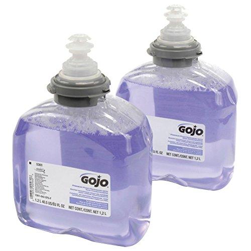 (GOJO 5361-02, TFX Foam Soap 1200mL Refill, 2 Refills/Case)