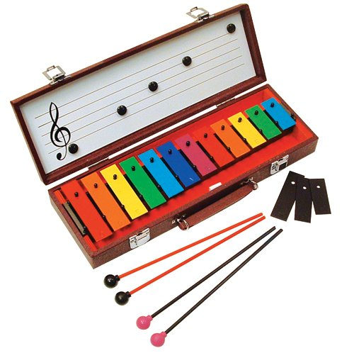 Basic Beat BB12B 12 Note Glockenspiel with Case by Basic Beat